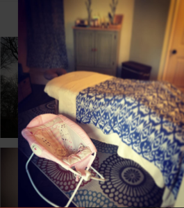 Postpartum Massage Setup